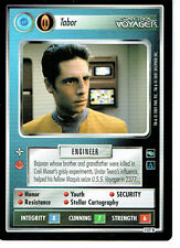 STAR TREK CCG VOYAGER RARE CARD TABOR (federation)