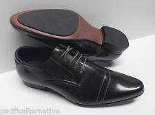 Chaussures gris foncé pour HOMME taille 43 costume de mariage NEUF #ELG-031