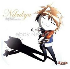 New 0696 BLACK CAT ORIGINAL SOUND TRACK NIKUKYU SOUNDTRACK CD Songs Music Anime