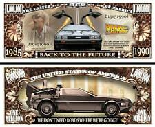 Back to the Future Million Dollar Bill Collectible Funny Money Novelty Note