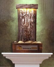 Slate Effect Tower Water Fountain Home Decoration