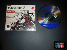 JUEGO THE SWORD OF ETHERIA (PAL)  PLAYSTATION 2 PROMO  PS2 PS3