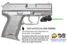ArmaLaser GTO for H&K P2000SK GREEN Laser Sight w/ FLX15 Grip Touch Activation