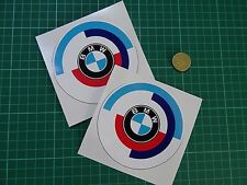 "2 x BMW M MOTORSPORT Stickers Car I Race M3 100mm (4"") Wide"