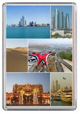 Abu Dhabi Fridge Magnet 01