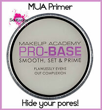 MUA MAKEUP ACADEMY PRO-BASE SMOOTH SET & PRIME PRIMER PORELESS HIDE PORES ZIT