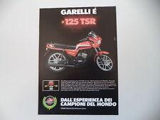 advertising Pubblicità 1983 MOTO GARELLI TSR 125