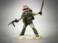 Primed Dust Tactics Studio 1947 Allies Taskforce Diver Hero  - BABYLON PATTERN