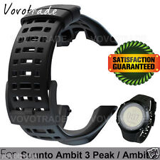 For Suunto Ambit 3 Peak and Ambit 2 Black Watch band Strap Kit SS021085000