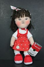"New NWT Campbell Soup Kids Girl Plush Rag Doll 100th Anniversary 9"" 2004"