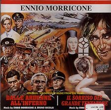 Ennio Morricone/Bruno Nicolai: Dalle Ardenne All'Inferno (CD New/Sealed)