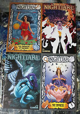 NIGHTJAR collection! 4 issues, FINE, 3 variants for #1; Avatar, Bad Girl, Moore