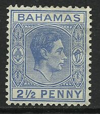 Bahamas Colony Effigie Roi George VI King Head Kopf des Königs Georges VI * 1938