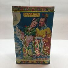 Vintage Jasmine Tea Tin Kwong Sang Co. Hong Kong