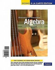 Elementary and Intermediate Algebra : Functions and Authentic Applications,...