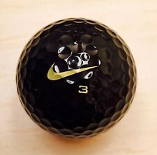 New - Nike One Black 'BOB' Golf Ball - Rare Tiger Woods Ball TW