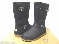 Ugg Kensington Black Boots US Kid 5/Women7/UK5.5/EU36/JP24