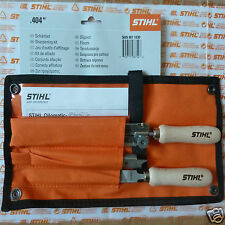 "Genuine Stihl Chainsaw Chain Filing Sharpening Kit 404"" 5.5mm 7/32"" Tracked Post"