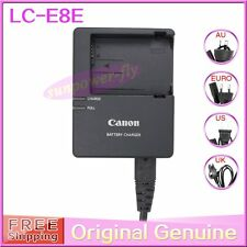 Genuine Original Canon LC-E8 LC-E8E Battery Charger for LP-E8 EOS 650D 600D 700D