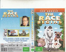 The Race Begins-2006-Animated-Movie-DVD