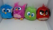 Lot of 4 Angry Birds Movie Hatchlings Baby Plush /Commonwealth Licensed NWT 2016