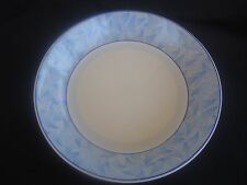 vintage art deco royal doulton envoy soup bowl d5423 blue & white