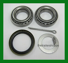 "Trailer Hub Wheel Bearing Kit 2000#  EZ Lube Axle Spindle 1 1/16"" L44649 Seal"