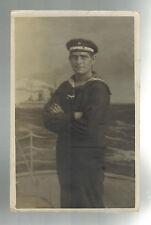 1918 Germany Kriegsmarine RPPC U Boat SM U-126 Feldpost Postcard Cover