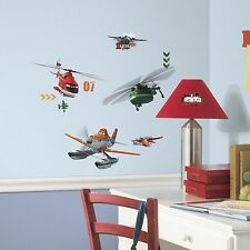 PLANES FIRE & RESCUE 29 Wall Decals DUSTY AIRPLAINES Room Decor Stickers Disney