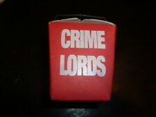 Crime Lords Academy Video Store Promotional 1990 VHS Take Out Chinese Food Box