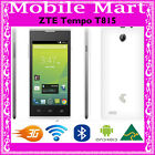 UNLOCKED◉ZTE TEMPO T815 TELSTRA◉NEXTG 3G◉ANDROID 4.4◉1GHz◉WiFi BLUETOOTH◉GPS◉OZ
