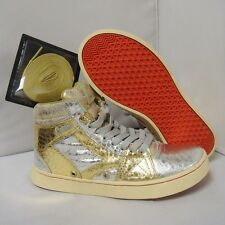 Womens Greedy Genius Cool Breeze Moon Walker mismatch L 7 R 6 silver gold supra