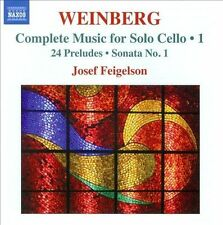 Weinberg: Complete Music for Solo Cello Vol 1, New Music