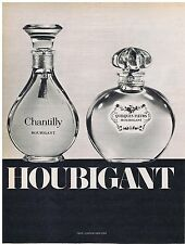 PUBLICITE ADVERTISING 044 1973 HOUBIGANT Chantilly Quelques Fleurs