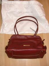 Coccinelle Soft Red Leather Hobo Handbag New BNWT - gorgeous Vintage