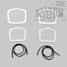 DMT MOPAR 63 Plymouth Taillight Gaskets WITH Trim