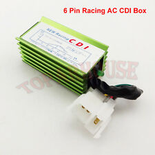Pit Dirt Bike 6 Pin Racing AC CDI Box For Honda Helix CN250 CF250 Scooter SSR125