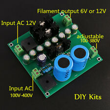 12V  Pre-amp / Tube amp / Amplifier / Filament Filter Power Supply Board DIY Kit