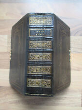 1848~THE HOLY BIBLE~FINE LEATHER BINDING~AEG~CHRISTIANITY~RELIGION