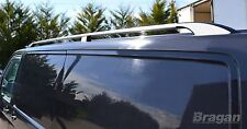 2004 - 2015 VW Transporter T5 LWB Caravelle Aluminium Alloy Roof Rails Bars
