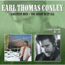 Greatest Hits/The Heart Of It All - Earl Thomas Conley (2012, CD NIEUW)