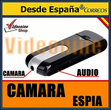 PENDRIVE CAMARA ESPIA  VIDEO FOTO VOZ AUDIO SENSOR MOVIMIENTO CAMARA OCULTA