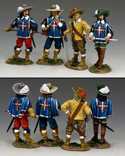 KING AND COUNTRY The 3 Musketeers & D'Artagnan PnM032 PnM32