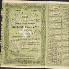 CRÉDIT FONCIER SUISSE 1871 (SUISSE) (R)