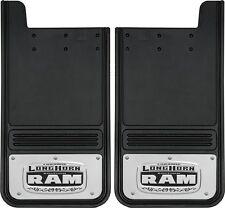 12x23 Gatorback Dodge Ram Longhorn Logo Truck Mud Flaps - REAR (GB1223L)