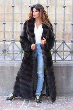 PELZ PELZMANTEL MANTEL BARGUZINSKY ZOBEL FUR COAT RUSSIAN SABLE PELLICCIA соболь