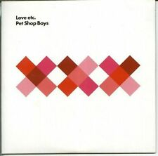 PET SHOP BOYS 'LOVE ETC +  BONUS' UK CD 1 SEALED