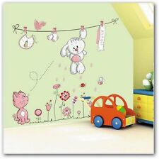 Vinilo wall sticker kids decoracion infantil de gatos