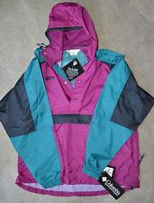 NWT Vintage Columbia Hooded Jacket Quay Jack Pullover Model Size Large