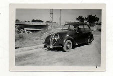 PHOTO - Automobile Voiture Auto - Bord route - Vers 1950 - Vintage N&B